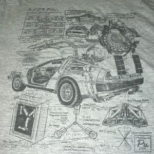 DeLorean shirt